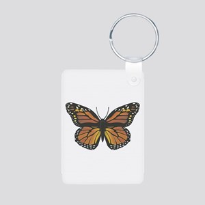 monarch butterfly copy Aluminum Photo Keychain