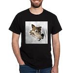 wolf smiling copy Dark T-Shirt