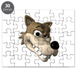 wolf smiling copy Puzzle