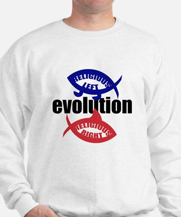 RELIGIOUS EVOLUTION Sweatshirt