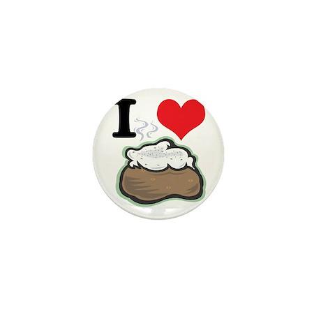 baked potato.jpg Mini Button (100 pack)