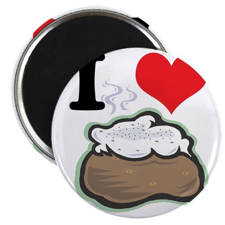 "baked potato 2.25"" Magnet (10 pack)"