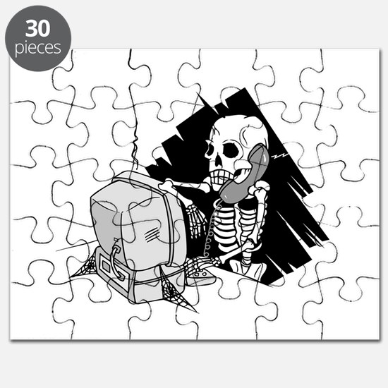 skeleton on tech support hold.png Puzzle