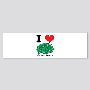green beans Sticker (Bumper)