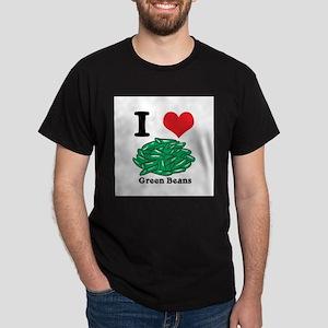 green beans Dark T-Shirt