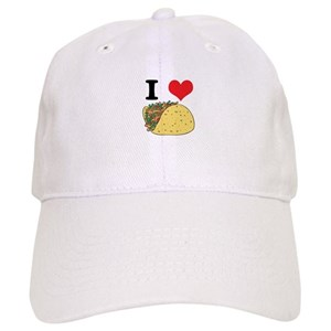 I Love Taco Hats - CafePress 3e292de15dec
