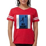 All Night Basketball Womens Football Shirt