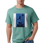 All Night Basketball Mens Comfort Colors Shirt
