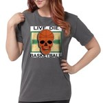 Live Die Basketball Womens Comfort Colors Shirt