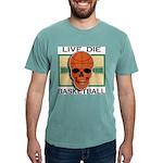 Live Die Basketball Mens Comfort Colors Shirt