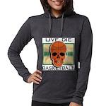 Live Die Basketball Womens Hooded Shirt