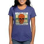 Live Die Basketball Womens Tri-blend T-Shirt