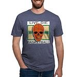 Live Die Basketball Mens Tri-blend T-Shirt