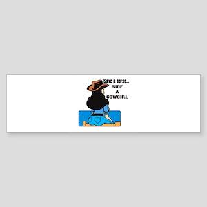 cowgirl2 Sticker (Bumper)