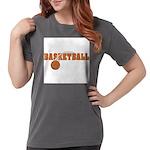 Sportsnuts Basketball Logo Womens Comfort Colors S