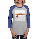 Sportsnuts Basketball Logo Womens Baseball Tee