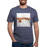 Sportsnuts Basketball Logo Mens Tri-blend T-Shirt