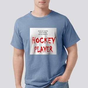 Hockey Player Mens Comfort Colors Shirt