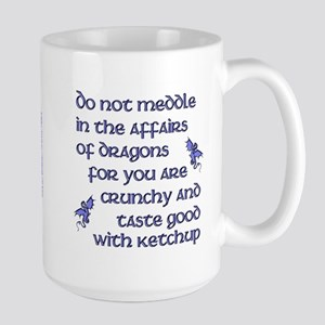 Affairs of Dragons (English) Large Mug