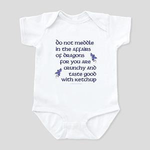 Affairs of Dragons (English) Infant Bodysuit