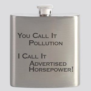 You Call it Pollution Flask