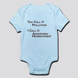 You Call it Pollution Infant Bodysuit