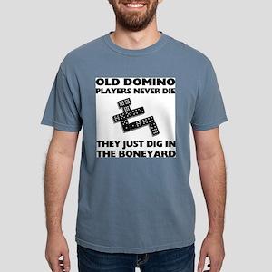 Domino Players Mens Comfort Colors Shirt