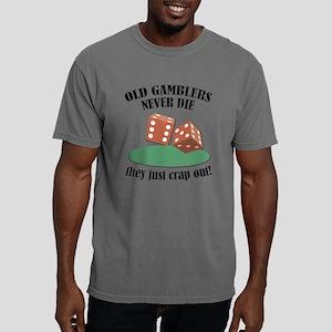 Gamblers Never Die Mens Comfort Colors Shirt