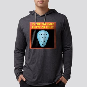 half full cup Mens Hooded Shirt