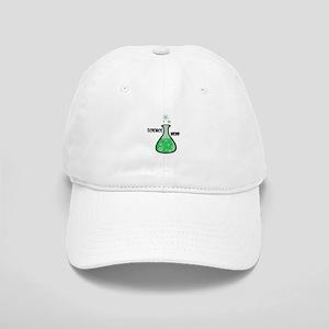 science nerd beaker Cap