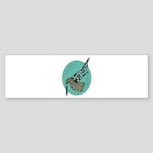 bagpipes copy Sticker (Bumper)