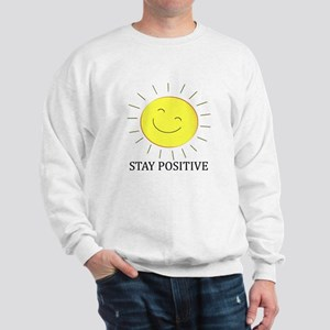 Stay Positive Sun Sweatshirt