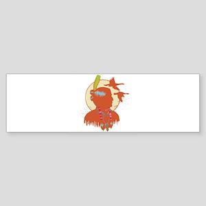 native american man copy Sticker (Bumper)