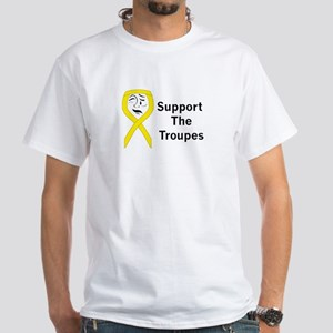 Support the Troupes White T-Shirt