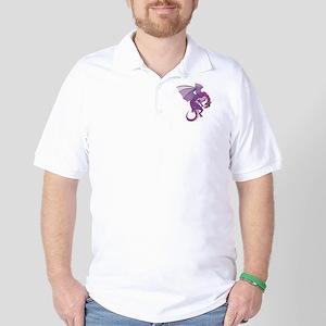 purpledragon copy Golf Shirt