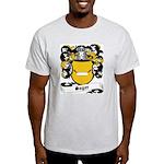 Sager Coat of Arms Ash Grey T-Shirt
