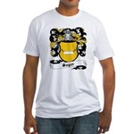 Sager Coat of Arms Fitted T-Shirt