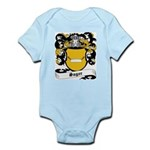 Sager Coat of Arms Infant Creeper