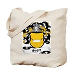 Sager Coat of Arms Tote Bag