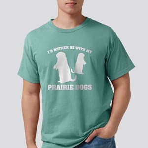 I'd Rather Be With My Pr Mens Comfort Colors Shirt
