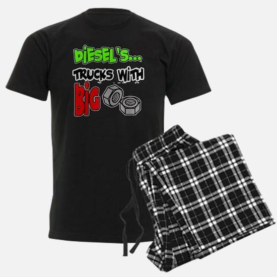 Diesels Trucks With Big Nuts Pajamas