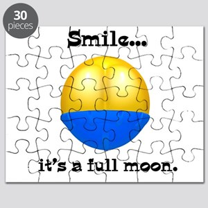 smile its a full moon Puzzle