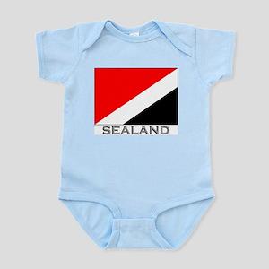 Sealand Flag Stuff Infant Creeper