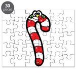 happy little candy cane Puzzle