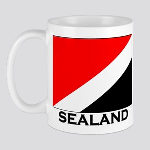 Sealand Flag Gear Mug