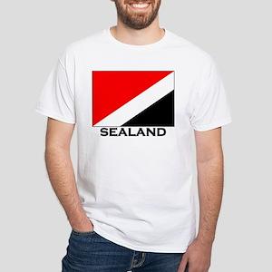 Sealand Flag Gear White T-Shirt