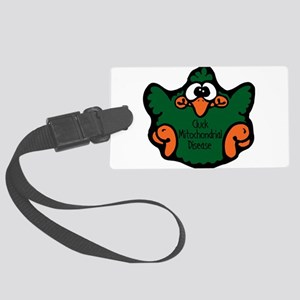 cluck-mitochondrial-disease Large Luggage Tag