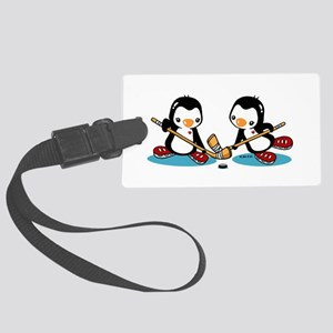 Ice Hockey (T) Large Luggage Tag
