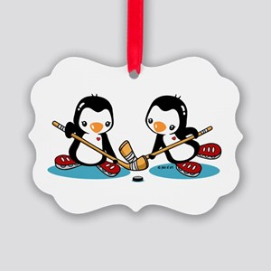 Ice Hockey (T) Picture Ornament