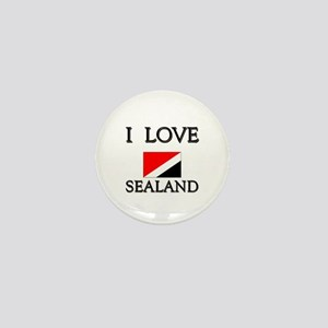 I Love Sealand Mini Button